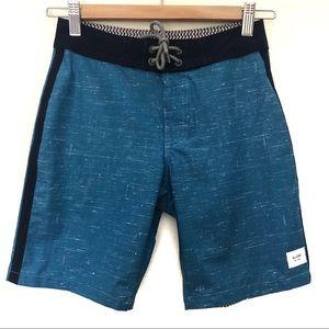 Globe Sz 8 Boys Multi-Flex Board Shorts Velcro and tie up front